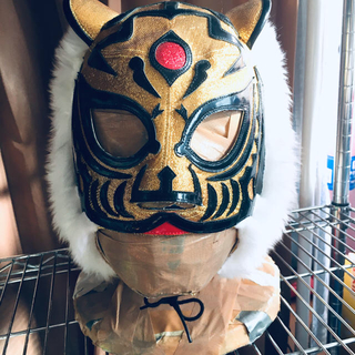 プロレスマスク  タイガー(格闘技/プロレス)
