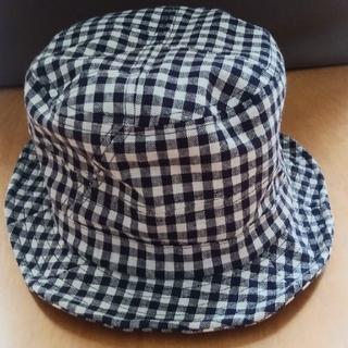 ギンガムチェック レディース帽子(ハット)
