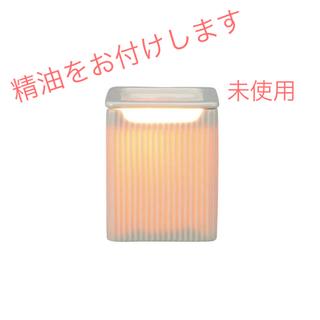 生活の木 - アロマランプM キューブ・精油セット【未使用】