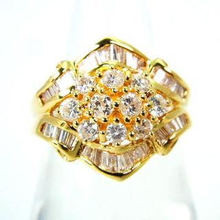 K18 ダイヤモンド リング 11号[g201-1](リング(指輪))