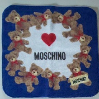 モスキーノ(MOSCHINO)のタオルハンカチ MOSCHINO(ハンカチ)