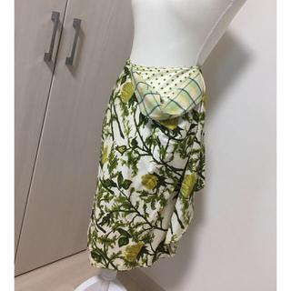アントニオマラス(ANTONIO MARRAS)のアントニオマラス 花柄スカート(ひざ丈スカート)