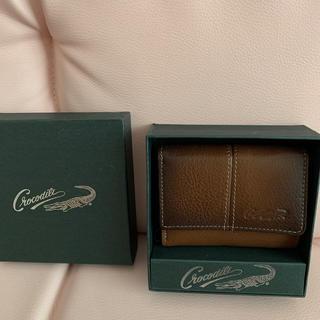 クロコダイル(Crocodile)のCrocodile 折りたたみ財布 ミニ(折り財布)