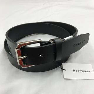 コンバース(CONVERSE)の新品 コンバース CONVERSE メンズ 革 ベルト カジュアル黒(ベルト)