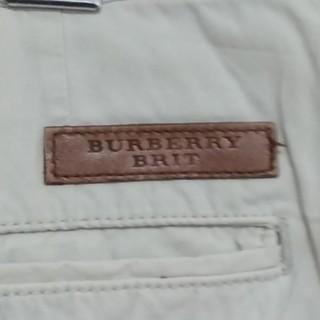 バーバリー(BURBERRY)のお値引き‼️バーバリーチノパン 生成色 W 30L 32(チノパン)