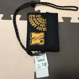 新品未使用。男の子財布 黒(財布)
