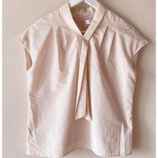 アオヤマ(青山)のフロントリボンブラウス(シャツ/ブラウス(半袖/袖なし))