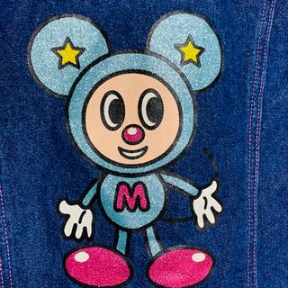 ミニケー(MINI-K)の【ミニK】マウスくんラメGジャン♪~120~(ジャケット/上着)