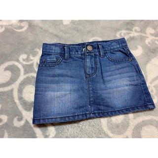 ギャップ(GAP)のベビー デニムスカート 95cm(スカート)