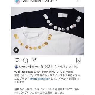 ウォール(WALL)のYUKI FUJISAWA ドゥーブルメゾン別注Tシャツ(Tシャツ(半袖/袖なし))