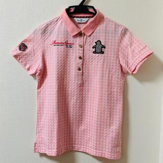 マンシングウェア(Munsingwear)のゴルフウエア ポロシャツ 半袖(ウエア)
