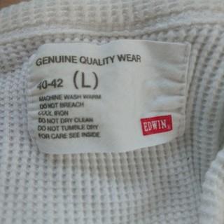 エドウィン(EDWIN)のEDWIN 白ロンT(Tシャツ/カットソー(七分/長袖))