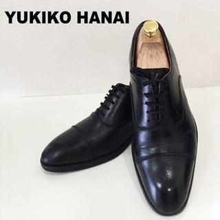 ユキコハナイ(Yukiko Hanai)のYUKIKO HANAI HOMMEストレートチップ25.5cm黒(ドレス/ビジネス)