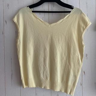ミッシュマッシュ(MISCH MASCH)のスカラップニット♡(Tシャツ/カットソー(半袖/袖なし))