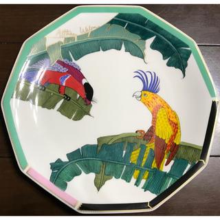 シセイドウ(SHISEIDO (資生堂))の楽園 raku-en 1992年★資生堂花椿クラブ オリジナル ケーキプレート皿(食器)