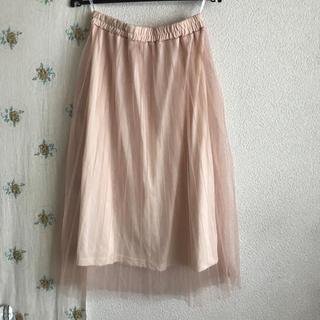 シマムラ(しまむら)のチュールスカート ロング 160cm(スカート)