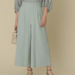 クチュールブローチ(Couture Brooch)のクチュールブローチ ワイドパンツ Sサイズ(カジュアルパンツ)