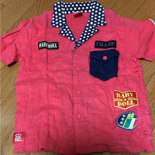 BABYDOLL ベビードール 120cm 半袖 シャツ(Tシャツ/カットソー)