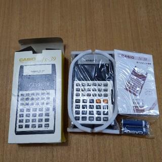 カシオ(CASIO)のレトロ関数電卓 カシオfxー39(その他)