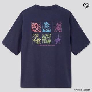 セーラームーン(セーラームーン)のXLサイズ 新品 ユニクロ UT 美少女戦士 セーラームーン Tシャツ ネイビー(Tシャツ/カットソー(半袖/袖なし))