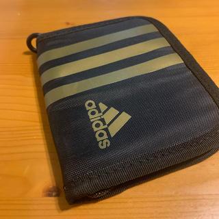 アディダス(adidas)のアディダス 財布 キッズ adidas zipウォレット  NIKE (折り財布)