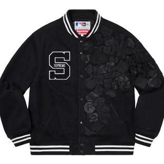 シュプリーム(Supreme)の最安値Supreme New Era MLB Varsity Jacket 黒S(スタジャン)