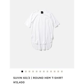 デミルクスビームス(Demi-Luxe BEAMS)のATON エイトン SUVIN60 2  ラウンドヘムTシャツ (Tシャツ(半袖/袖なし))
