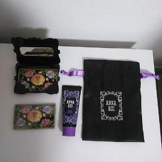 アナスイ(ANNA SUI)のANNA SUI ミラー、ハンドクリーム、あぶらとり紙、巾着(ハンドクリーム)
