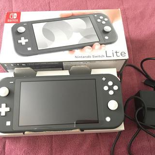 ニンテンドースイッチ(Nintendo Switch)の最終値下げ Nintendo Switch Lite グレー(家庭用ゲーム機本体)