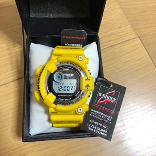 ジーショック(G-SHOCK)のG-SHOCK FLOGMAN イエロー GF-8250 (腕時計(デジタル))