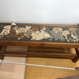 木の椅子(スツール)