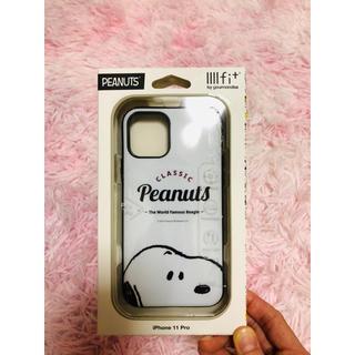ピーナッツ(PEANUTS)のllllfit イーフィット iPhone11Pro ケース スヌーピー(iPhoneケース)