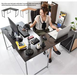 L字 パソコン デスク (学習机)