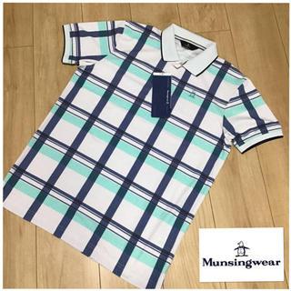 マンシングウェア(Munsingwear)のM 新品定価19800円マンシングウェア メンズ トップス半袖ポロシャツ   (ウエア)