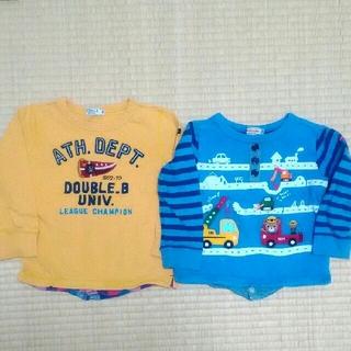 ミキハウス(mikihouse)の長袖 ロンT 薄手 トレーナー プッチー(Tシャツ/カットソー)