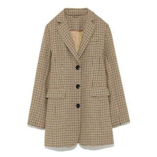 リリーブラウン(Lily Brown)のウールシャツジャケット(テーラードジャケット)