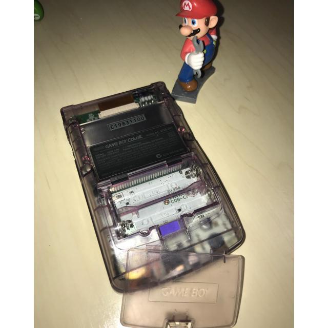 ゲームボーイ(ゲームボーイ)の美中古 ゲームボーイ カラー本体のみ エンタメ/ホビーのゲームソフト/ゲーム機本体(携帯用ゲーム機本体)の商品写真