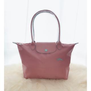 ロンシャン(LONGCHAMP)の新品 ロンシャン ル プリアージ ハンドバッグ Mサイズ アンティーク ピンク(トートバッグ)