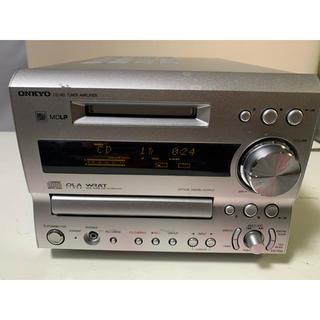 オンキヨー(ONKYO)のオンキョー・CD&MDコンポ!モデル・FR-7GX!(アンプ)