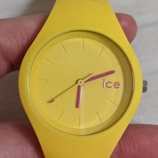 アイスウォッチ(ice watch)のicewatch アイスウォッチ 腕時計 イエロー(腕時計)