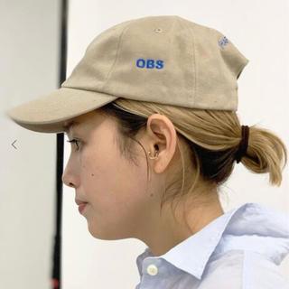 L'Appartement DEUXIEME CLASSE - AP STUDIO OBS キャップ CAP ベージュ