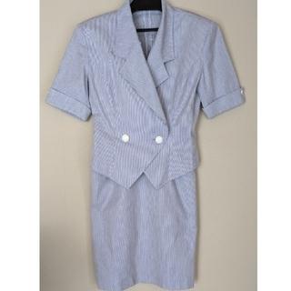 クレージュ(Courreges)のレトロ クレージュのサマースーツ(中古品)(スーツ)
