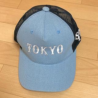 ヨミウリジャイアンツ(読売ジャイアンツ)のジャイアンツ 巨人 キッズ キャップ 帽子 デニム  メッシュ(帽子)
