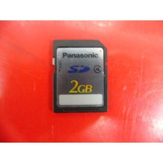 パナソニック(Panasonic)のPanasonic SDカード 2GB RP-SDP02G(その他)