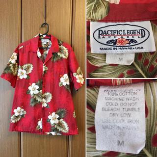 希少 HAWAII USA90'sPACIFICLEGEND 総柄 アロハシャツ(シャツ)