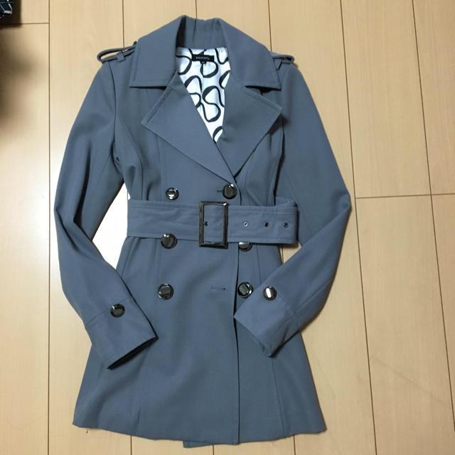 EGOIST(エゴイスト)のグレーのコート レディースのジャケット/アウター(トレンチコート)の商品写真