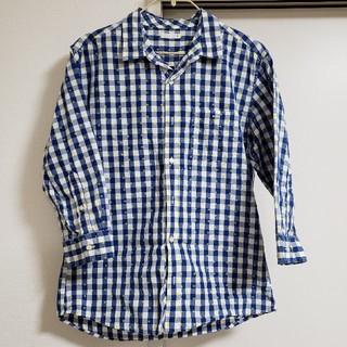 ユニクロ(UNIQLO)のGU 七分丈シャツ(シャツ)
