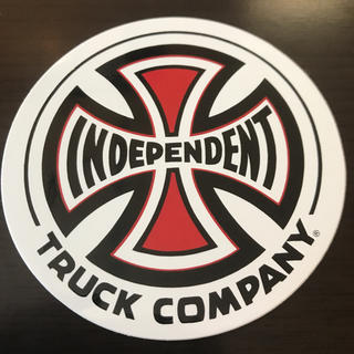 インディペンデント(INDEPENDENT)の【直径7.7cm 】independent ステッカー(スケートボード)