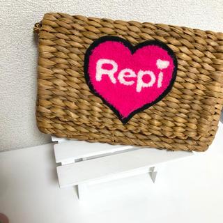 レピピアルマリオ(repipi armario)のレア レピピアルマリオ カゴバッグ  ショルダーバッグ キッズバッグ(かごバッグ/ストローバッグ)