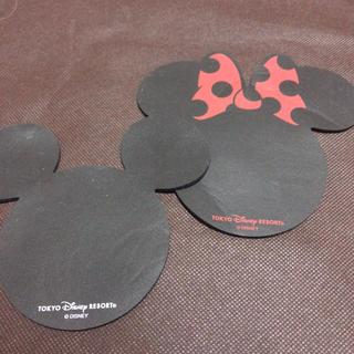 ディズニー(Disney)のディズニーランド ミッキー    ミニー 滑り止め シート(車内アクセサリ)